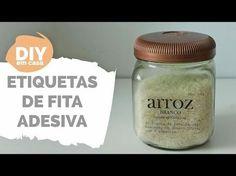 VÍDEO | Diy em casa: Etiquetas de fita adesiva - GavetaMix