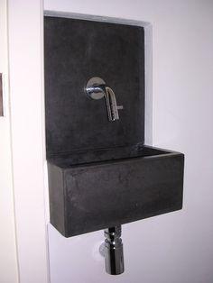 Solidus toiletfonteintje maatwerk halfinbouw