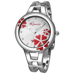 Heart Clover Leaf Bracelet Watch