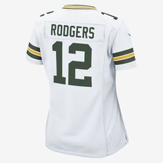 3f5255d2e60eb NFL Green Bay Packers Game Jersey (Aaron Rodgers) Women's Football Jersey  by Nike