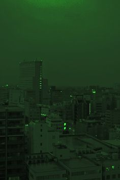 Uploaded by enligne. Find images and videos about aesthetic, green and city on We Heart It - the app to get lost in what you love. Dark Green Aesthetic, Aesthetic Colors, Aesthetic Pictures, Green Aesthetic Tumblr, 80s Aesthetic, Green Pictures, Slytherin Aesthetic, Green Theme, Green Photo
