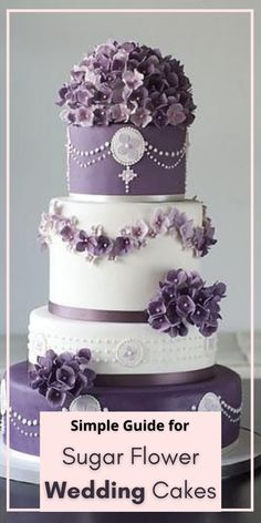 Gorgeous Cakes. Wedding Cake Designs. Pretty Cakes. Fondant Wedding Cakes. Wedding Cake Inspiration. Floral Cake. gorgeous sugar flowers. sugar peony ... See the complete guide to learn how to make sugar flower wedding cakes! Diy Wedding Cake, Fondant Wedding Cakes, Buttercream Wedding Cake, Elegant Wedding Cakes, Wedding Cake Designs, Wedding Tips, Wedding Decorations, Gorgeous Cakes, Pretty Cakes