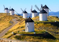 "Castilla La Mancha. ""Oh hey Don Quijote."""