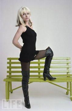 Debbie harry in boots
