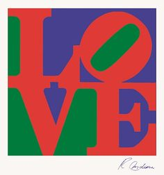 Available for sale from RoGallery, Robert Indiana, LOVE (ca. Silkscreen, 26 × 26 in Illustration Photo, Illustrations, Indiana Love, Tableau Pop Art, Pop Art Movement, Love Frames, Love Posters, Modern Love, Arte Pop