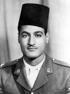"""Gamal Abdel Nasser 1918 – 1970, second President of Egypt, 1956 - 1970. He planned the overthrow of the Egyptian monarchy. On 18 June 1953, the Egyptian monarchy was abolished and the Republic of Egypt declared, with General Naguib as its first president, after assuming power, Nasser and the """"Association of Free Officers"""" expected to become the """"guardians of the people's interests"""" against the monarchy and the pasha class while leaving the day-to-day tasks of government to civilians."""