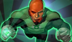 Green Lantern John Stewart by Manny Clark