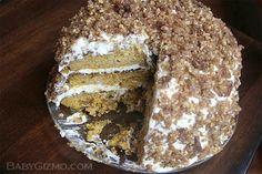 Pumpkin Crunch Cake #pumpkin #cake