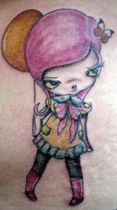 doll tatuaje Pupa Tattoo Granada