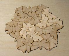 Escher Butterflies Tessellation by DracoLoricatus on deviantART