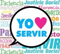 Yo amo servir con amor!!
