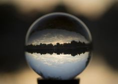 Photography fun with a crystal ball