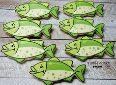 Happy cookie fish