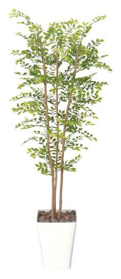 光触媒 光の楽園 ゴールデンリーフ 【インテリアグリーン フロアタイプ 人工観葉植物 】高さ1.5m