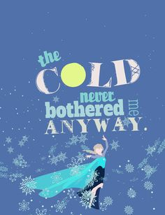 the cold never bothered me anyway.. elsa by studiomarshallarts