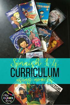 Mis Clases Locas Curriculum for Spanish 1-4