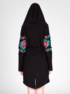"Płaszcz kobiecy ""Палессе"" Fashion design clothes emboidery traditional belarusian Poland folk folklore"