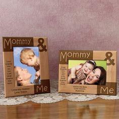 This frame is adorable, it would definitely make a thoughtful 1st Mother's Day gift!