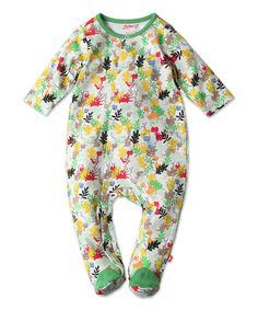 Take a look at this Green Camo Dinosaur Footie - Infant today!