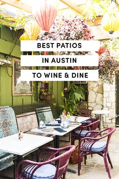 Best Austin Patios to Wine & Dine
