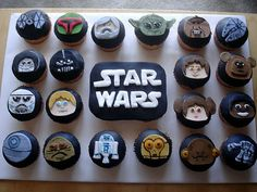 Star Wars cupcakes...I mean SERIOUSLY?! Is this not the greatest thing ever?!?!?!