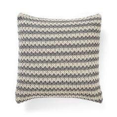 Stripey Knit Cushion & Throws by Aura by Tracie Ellis   shopinside.com.au