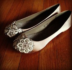 279719845723 French Knot Lace Bridal Ballet Flats Wedding by BeholdenBridal