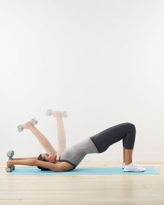 fitness dumbell workouts on pinterest  workout routines