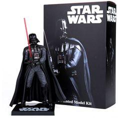 """Loco Juguetes de Star Wars Darth Vader Acción PVC Figura de Colección Modelo de Juguete 8 """"20 cm"""