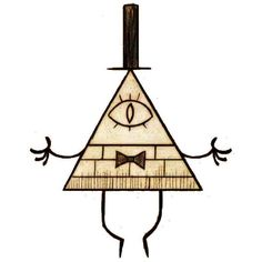 Bill Cipher Gravity Falls ❤ liked on Polyvore featuring gravity falls