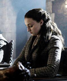 Sophie Turner as Sansa Stark