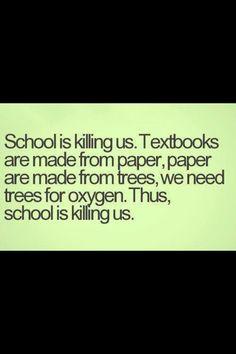 funny quotes high school essays