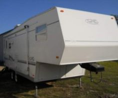 Used 2002 R-vision Trail-lite 25sb #Fifth_wheel Review