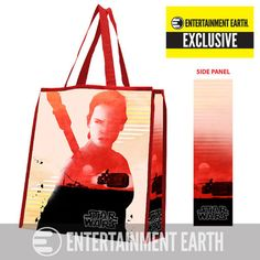 Star Wars The Force Awakens Rey Entertainment Earth Exclusive Tote Bag