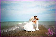Canada's most southerly tip.  Beautiful wedding shot at Point Pelee http://weddingshows.com