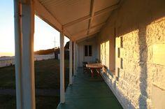 Vuurtorenwachterhuis bij Cape Otway Australië.