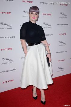 Kelly Osbourne. Obsessed with her.