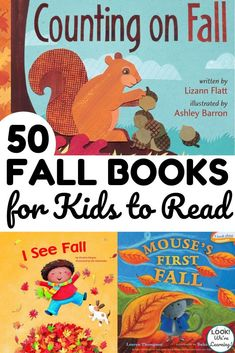 Make this fall one to treasure with the kids with this list of 50 wonderful fall books for kids to read!   Books about Fall   Books About Seasons   Books About Changing Leaves   Educational children's books   Book's for kids   Fall Books Reading List Pre-school Books, Fall Books, Thanksgiving Books, Read Books, Best Toddler Books, Best Children Books, Toddler Preschool, Preschool Activities, Best Story Books