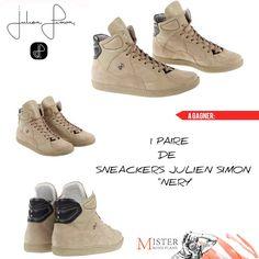 """Jeu concours Mister Bons Plans & Julien Simon Shoes Creator Paris // A GAGNER 1 PAIRE DE SNEACKERS JULIEN SIMON """"NERY"""" //"""