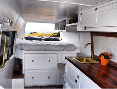Check out that sink! Beautiful build by @dreamcatcher.van ------------------------- Show off your Sprinter Van! Tag your pics #sprintercampervans to be featured -------------------------