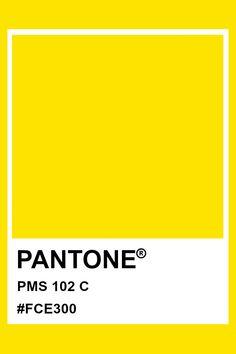 Pantone PMS 102 #pantone #color Pantone Orange, Pantone Color, Grey Yellow, Green And Grey, Pantone Matching System, Print Design, Logo Design, Pms Colour, Red Logo
