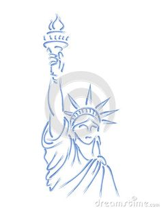 Painted Statue of Liberty by Murphy81, via Dreamstime