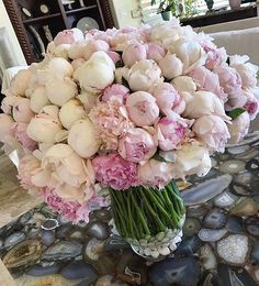 Flowers Nature, My Flower, Fresh Flowers, Beautiful Flowers, Beautiful Flower Arrangements, Floral Arrangements, Peonies And Hydrangeas, Gras, Flower Boxes