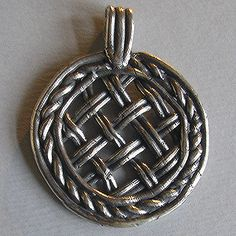 Sieve Pendant 12-13th Century #Jewellery  The sieve magic deals with predictions, healing, fertility and keeping away evil.