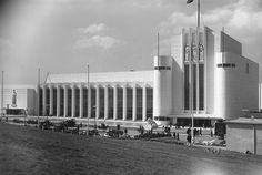 United Kingdom Pavilion, Empire Exhibition, Bellahouston Park, Glasgow, in 1938