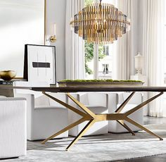 This kind of Dining Room lighting is an obviously inspirational and remarkable idea Painted Dining Chairs, Metal Chairs, Plywood Furniture, Gold Desk Chair, Dining Chair Makeover, Art Deco, Lounge, Dining Room Design, Dining Rooms