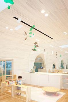 Leimond-Shonaka Nursery School by Archivision Hirotani Studio | child-scaled furniture