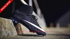 e993aa7056 Futsal Shoes CR7 ACC Nike Mercurial Superfly X FG Black White Nike Mercurial  Superfly