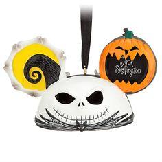 Jack Skellington and Zero Ear Hat Ornament - Bone idol, Item No. 7509055880098P, $22.95