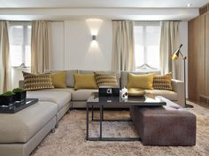 Molins Interiors // arquitectura interior - interiorismo - salón - sofá - sofá…